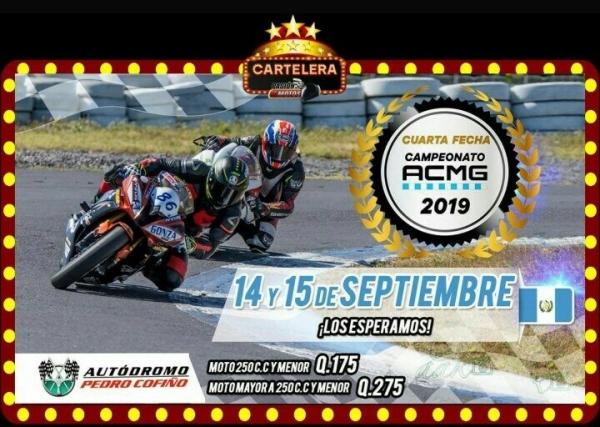 Calendario Autodromo Pedro Cofino 2019.Cartelera Pasion Por Las Motos