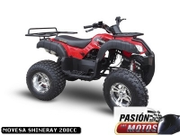 MOVESA SHINERAY 200CC Modelo 2019